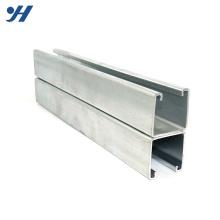 Canal Q235 soldado de aço inoxidável formado a frio do dobro do perfil HDG C