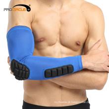Protetor elástico do braço da sustentação da luva da evitação da colisão