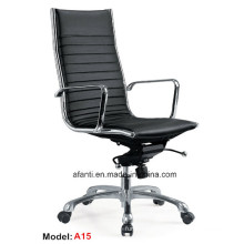 Modern Office Executive Metal Swivel Leisure Leather Chair (RFT-A15)