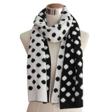 Ladies Fashion Winter Acrylic Knitted Cashmere Scarf (YKY4312)