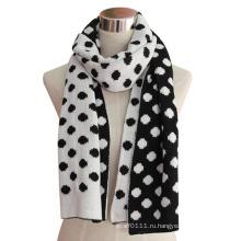 Леди мода зима акриловые трикотажные кашемир шарф (YKY4312)