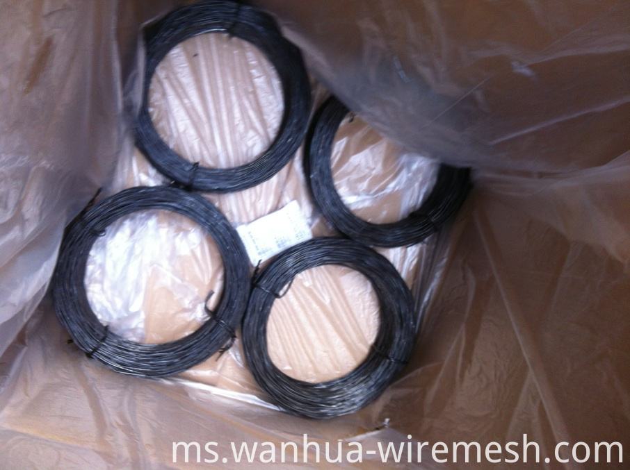 1.1MM diameter round shape Small coil tie wire (3)