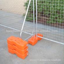Tragbarer Draht geschweißter temporärer Zaun mit geschweißtem Mesh oder Tube