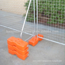 Portable Wire Welded Temporary Fence With Welded Mesh or Tube