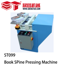 Notebook And Book Spine Pressing Machine