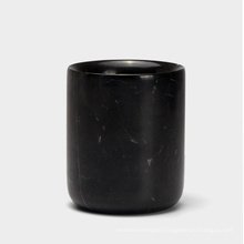 Creative Home Natural Marble Tumbler, Toothbrush Holder