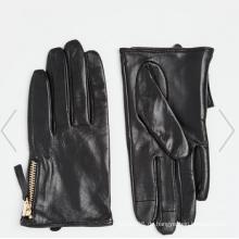Mode Kleid Smartphone Leder Touch Handschuh im Finger
