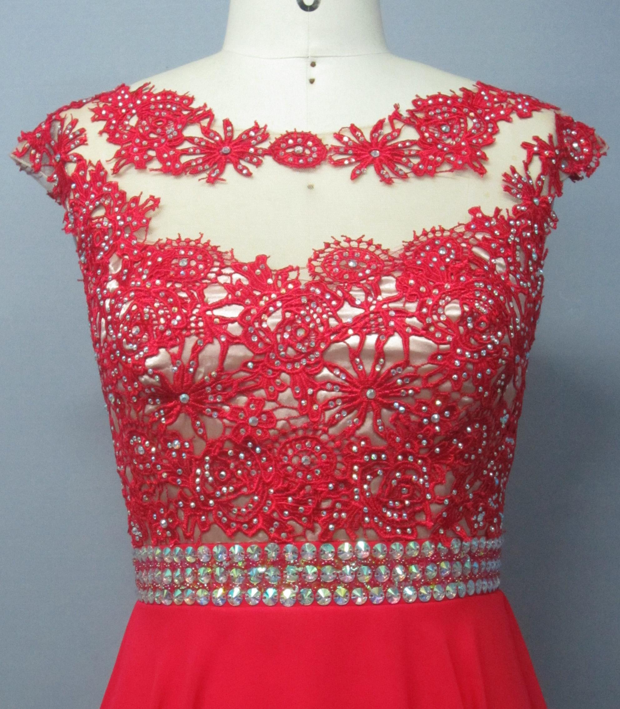Girl Wedding Dress RED