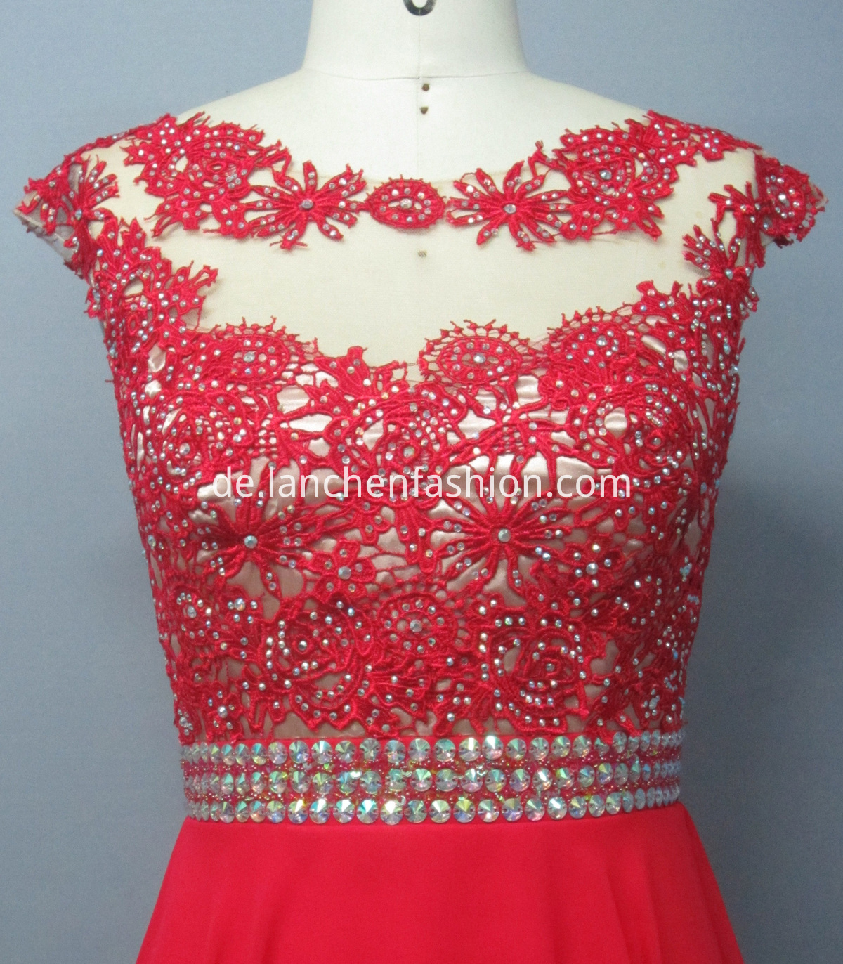 Girl Wedding Dress RED