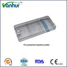 Étui en maille de stérilisation de matériel médical de base pour Hystera-Cutter alimenté