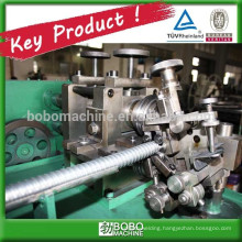 Metal flexible conduit forming machine