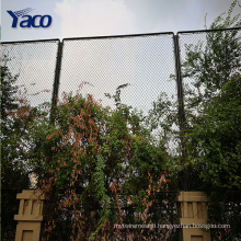 1.2m ,1.5m 1.8m 2m PVC galvanized coated chain link fence used chain link fence gates for sale
