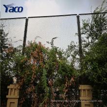 1,2 м ,1,5 м 1,8 м 2м PVC гальванизировал покрынную загородку звена цепи используется цепь ссылка забор ворота для продажи