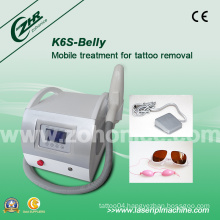 K6s Top Quality Tattoo Removal Q-Switch YAG Laser Beauty Equipment
