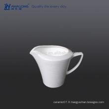 Logo encre de lait en céramique imprimé personnalisé, pot de lait pour le thé de l'après-midi