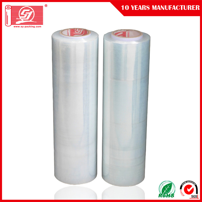Manual and Automatic LLDPE Stretch Wrap Plastic Film