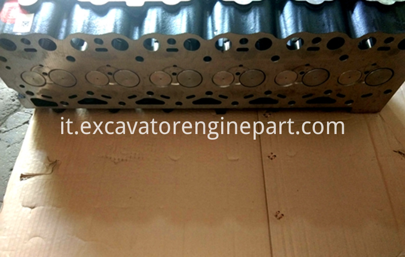 D6E engine cylinder head assy 04292633 for excavator EC210B