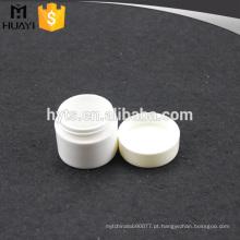 Recipiente de plástico cosmético vazio branco 50g para creme