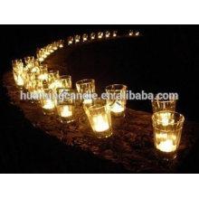 Fabricant de bougies en verre parfumé / bougies parfumées avec des bocaux en verre / verre