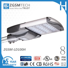 100W Class II LED Street Light with SPD Surge Protector