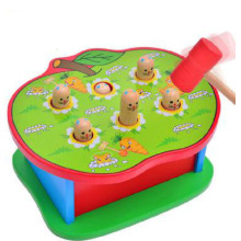 Best-Selling for Educational Toys Wooden Apple Shape Poke A Mole Toys export to Puerto Rico Manufacturer