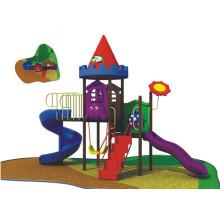 Outdoor Playground, Kids Plastic Playground, LLDPE Playground