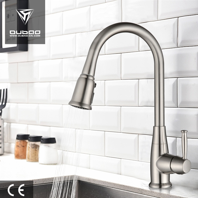 Polished Chrome Kitchen Taps Ob D86