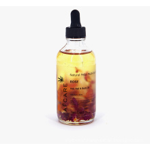 OEM Private Label Natural Rosehip Oil Hair Oil Moisturize Anti-Aging Rose Essential Oil for Skin and Hair Care