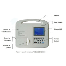Single Channel Electrocardiograph ECG1101b for Medical
