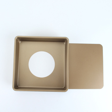 """8.5"""" Square Cheesecake Pan with Removable Bottom"""