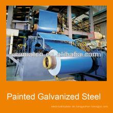 lackierten verzinkten Stahl-Coils