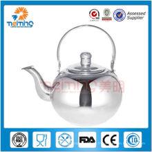 Bouilloire non-électrique en acier inoxydable de 2,5 L avec infuseur