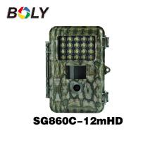 Novos produtos flash branco SG860C-12mHD e cor 720 P HD câmera de visão noturna de vídeo caçador