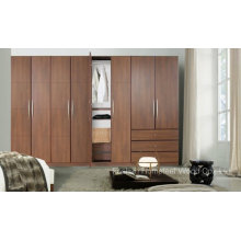Fashion Bedroom Wooden Wardrobe Cabinet (HF-EY09043)