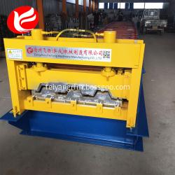 Hydraulic color steel floor deck roll forming machine