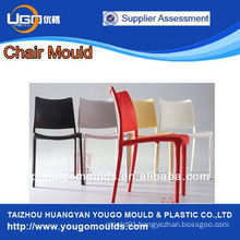2013 hot sale popular new design restaurant Injection chair mould in Huangyan China