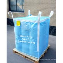 Bolsa grande con Inter Buffle para embalaje de dióxido de titanio