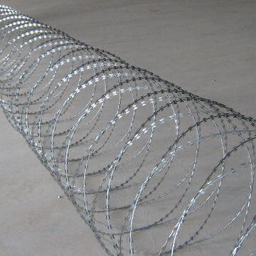 stainless concertina razor barbed wire wire