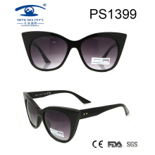 2017 New Style Black Frame Fashion Cat Sunglasses (PS1399)