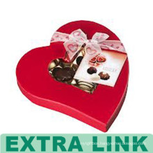 Alibaba China Custom Heart Shape Paper Food Packaging Chocolate Box