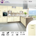 PVC Vacuum Modern Kitchen Cabinet