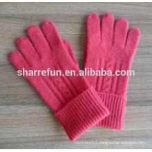 Chine fournisseur Divers 100% Hiver Cachemire gants prix