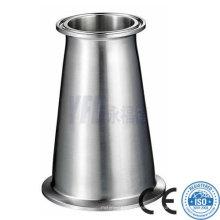 3A Conexiones de tuberías sanitarias Reductor concéntrico de acero inoxidable