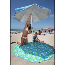 2015 toalla de playa redonda de buena calidad popular