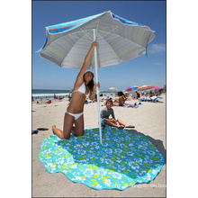 Toalha de praia redonda de boa qualidade popular 2015