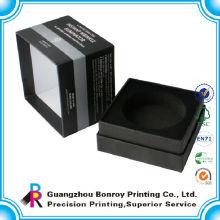 Papel de cuero personalizado EVA Watch Packaging Box Printing