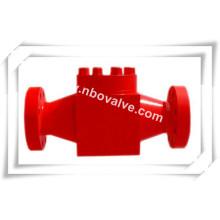Válvula de cabeça de poço API 6A & Válvula de retenção de árvore de Natal de óleo (H44Y)