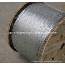 """Hot Dipped galvanizado fio de aço Strand 3/8 """"diâmetro"""