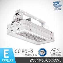 30W série E elevada do lúmen com CE/RoHS Certificated LED gás estação dossel luz