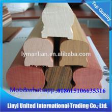 Barandilla de roble rojo soporte de barandilla escalera flexible